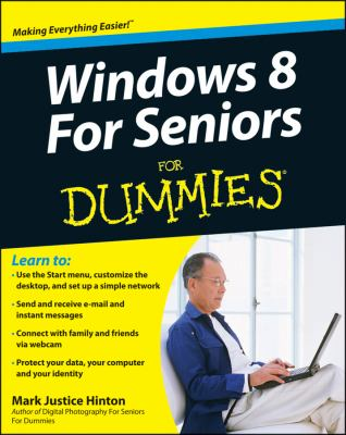 Windows 8 for Seniors for Dummies�   2012 9781118120286 Front Cover