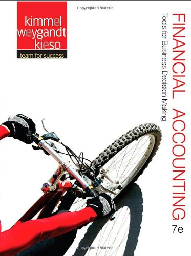 Financial Accounting Tools for Business Decision Making 7th 2013 9781118162286 Front Cover