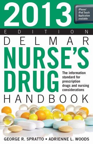2013 Delmar Nurse's Drug Handbook  22nd 2013 edition cover