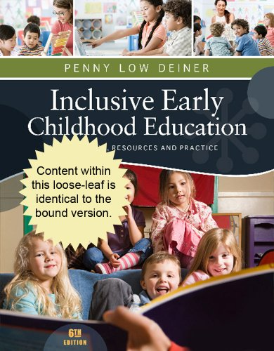 Cengage Advantage Books: Inclusive Early Childhood Education  6th 2013 edition cover