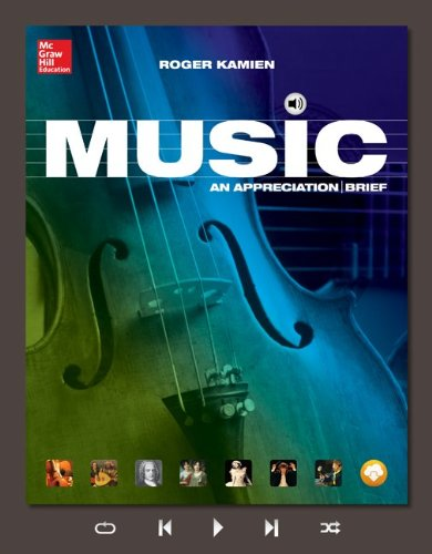 Music + Connect Access Card: An Appreciation  2015 9781259669286 Front Cover