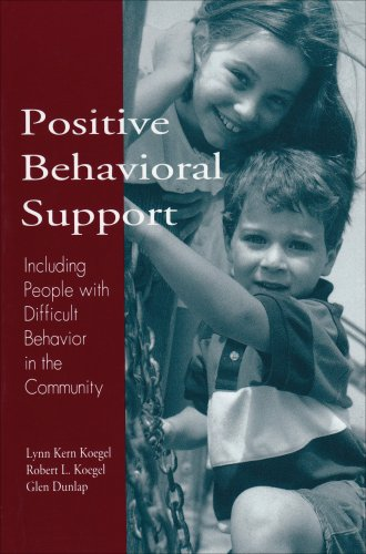 Positive Behavioral Support Including People with Difficult Behavior in the Community  1996 edition cover