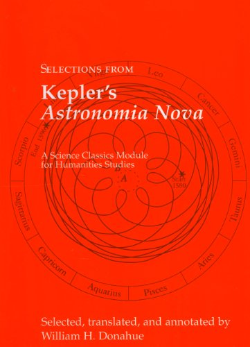Selections from Kepler's Astronomia Nova   2004 edition cover