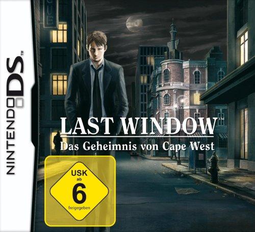 Last Window: Das Geheimnis von Cape West Nintendo DS artwork