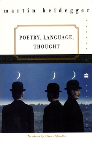 Poetry, Language, Thought   2001 edition cover