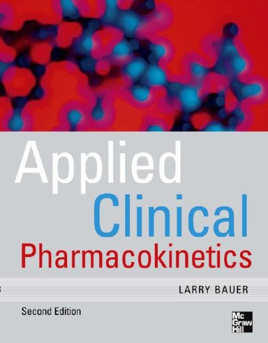 Applied Clinical Pharmacokinetics  2nd 2008 edition cover