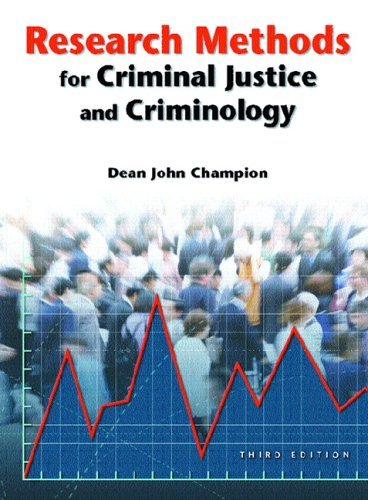 Research Methods for Criminal Justice and Criminology  3rd 2006 (Revised) 9780131189287 Front Cover