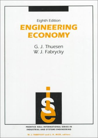 Engineering Economy  8th 1993 9780132799287 Front Cover