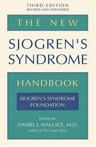 New Sjogren's Syndrome Handbook  2nd 2005 (Revised) edition cover