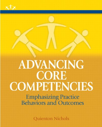 Advancing Core Competencies Emphasizing Practice Behaviors and Outcomes  2012 edition cover