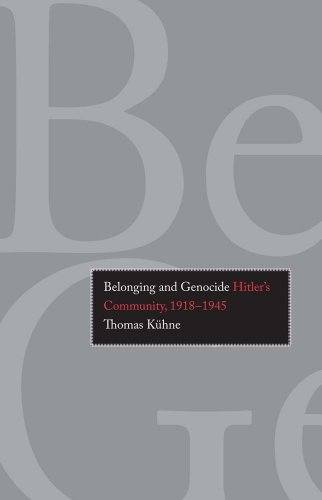 Belonging and Genocide Hitler's Community, 1918-1945  2013 edition cover