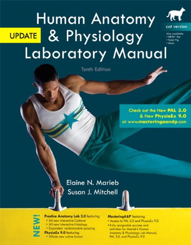 Human Anatomy and Physiology  10th 2012 (Revised) edition cover