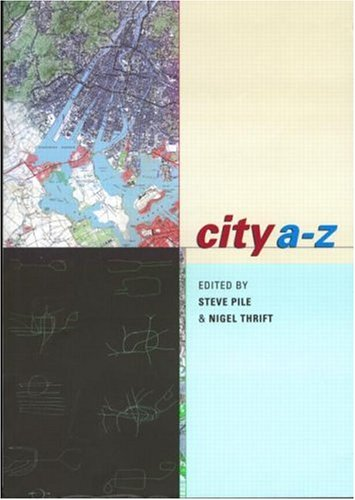 City A-Z Urban Fragments  2000 9780415207287 Front Cover
