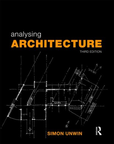 Analysing Architecture  3rd 2009 (Revised) edition cover
