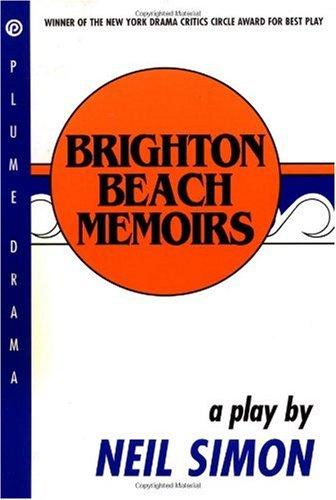 Brighton Beach Memoirs  N/A edition cover