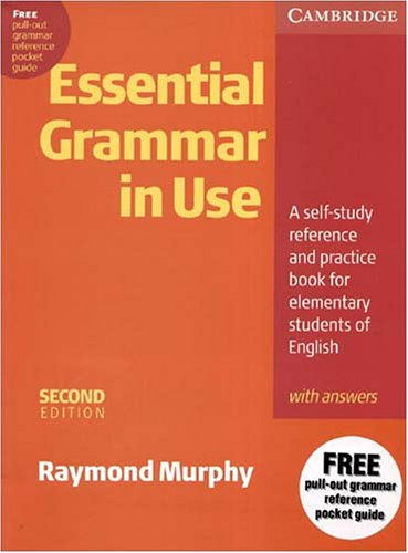 Essential Grammar in Use with Answers A Self-Study Reference and Practice Book for Elementary Students of English 2nd 1996 (Revised) 9780521559287 Front Cover