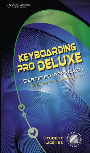 Keyboarding Pro Deluxe Certified Approach   2008 9780538731287 Front Cover