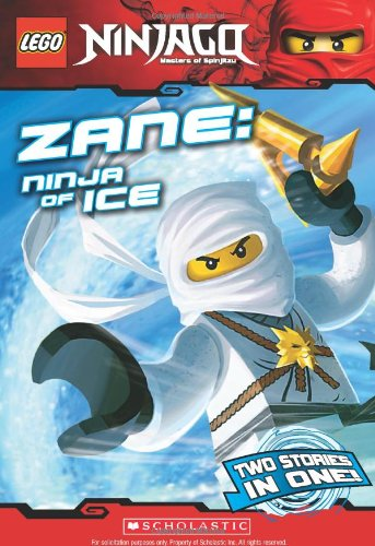 Zane - Ninja of Ice  N/A 9780545348287 Front Cover