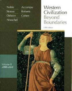 Western Civilization Beyond Boundaries, 1300-1815 5th 2008 9780618794287 Front Cover