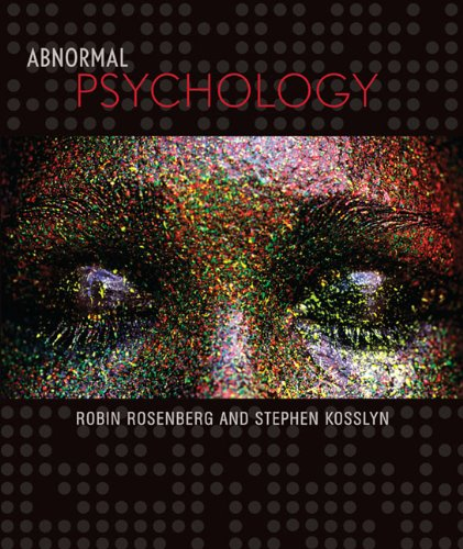 Abnormal Psychology   2011 edition cover