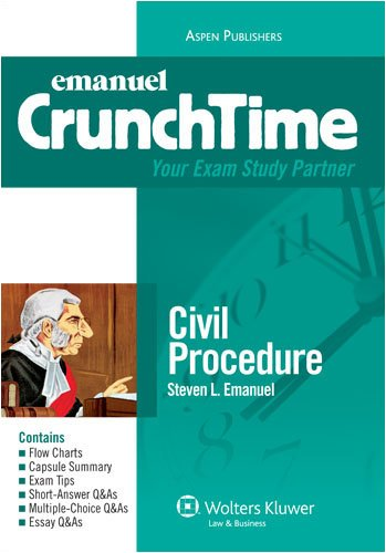 Civil Procedure 2008  4th 2008 (Student Manual, Study Guide, etc.) edition cover