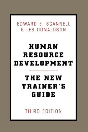 Human Resource Development  3rd 2000 9780738203287 Front Cover