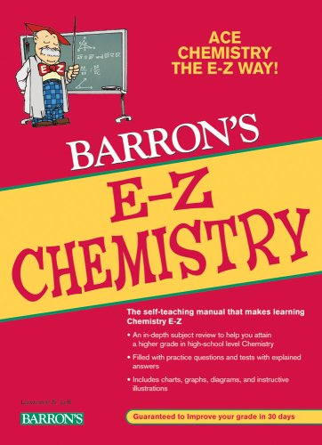 E-Z Chemistry  5th 2009 (Revised) edition cover