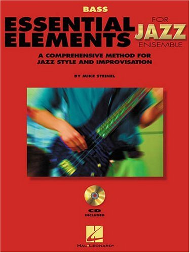 Essential Elements for Jazz Ensemble : Bass 1st edition cover