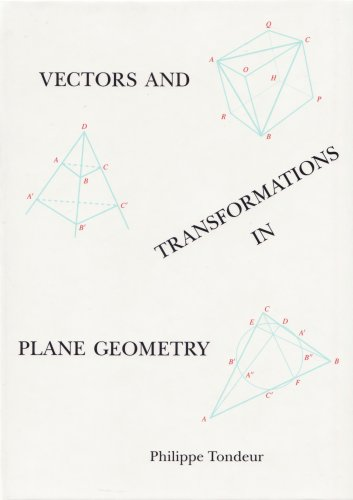 Vectors and Transformations in Plane Geometry 1st edition cover
