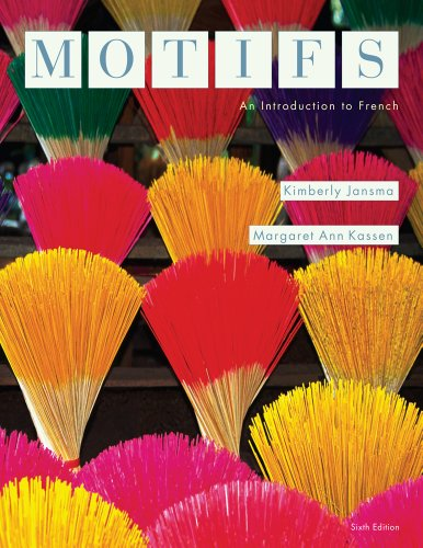 Motifs An Introduction to French 6th 2014 edition cover