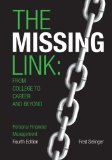 Missing Link From College to Career and Beyond, Personal Financial Management 4th 2013 edition cover