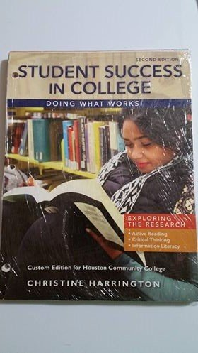 STUDENT SUCCESS IN COLLEGE (LL)>CUSTOM< N/A 9781305754287 Front Cover