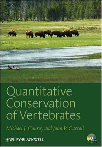 Quantitative Conservation of Vertebrates   2009 9781405182287 Front Cover