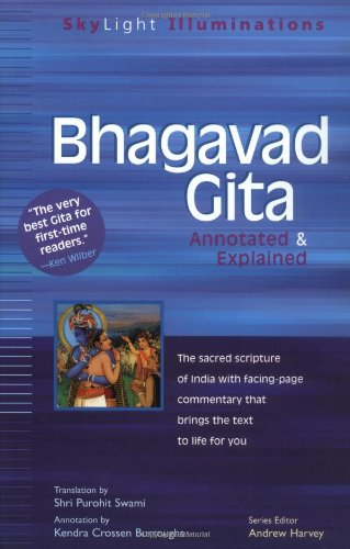Bhagavad Gita Annotated and Explained  2001 (Annotated) edition cover