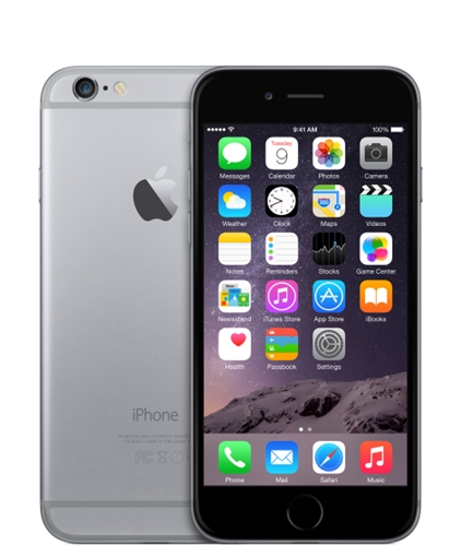 Apple iPhone 6 - 16GB - Space Gray (Sprint) product image