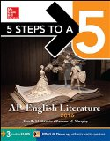 5 Steps to a 5 AP English Literature 2016  7th 2015 edition cover