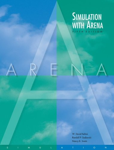 Simulation with Arena  5th 2010 edition cover