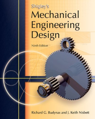 Shigley's Mechanical Engineering Design  9th 2011 edition cover
