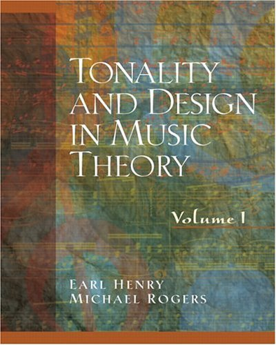 Tonality and Design in Music Theory   2005 edition cover