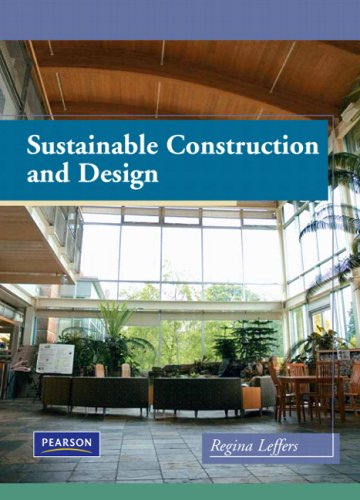 Sustainable Construction and Design   2010 edition cover