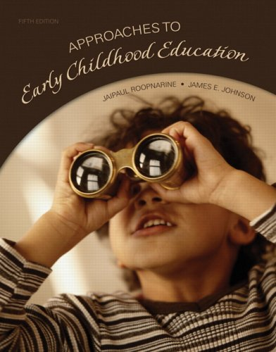 Approaches to Early Childhood Education  5th 2009 edition cover