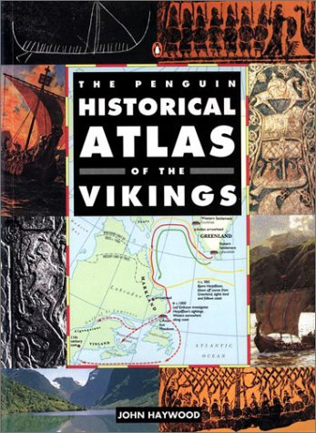 Penguin Historical Atlas of the Vikings   1995 edition cover