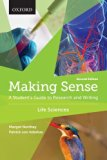 Making Sense in the Life Sciences: A Student's Guide to Writing and Research  2015 edition cover