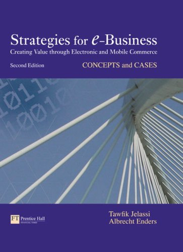 Strategies for E-Business Concepts and Cases 2nd 2008 9780273710288 Front Cover