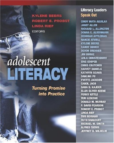 Adolescent Literacy Turning Promise into Practice  2007 edition cover