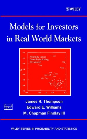 Models for Investors in Real World Markets   2003 edition cover