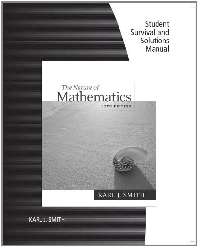 Nature of Mathematics  12th 2012 9780538495288 Front Cover