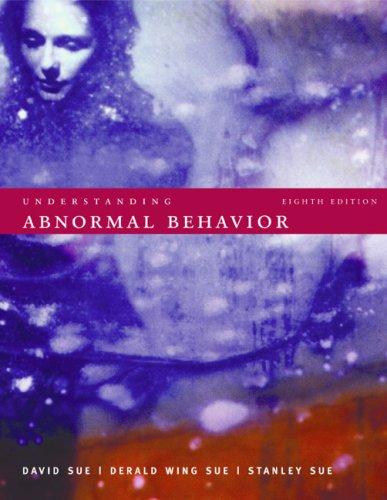 Understanding Abnormal Behavior  8th 2006 edition cover