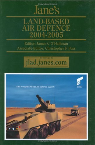 Jane's Land Based Air Defence 2004-2005:   2004 edition cover