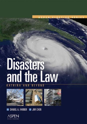 Disasters and the Law Katrina and Beyond  2006 edition cover